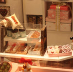Playful DIY Cake Shop Miniature Dollhouse
