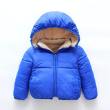 Infant Toddlers Winter Puffed Windproof Jacket
