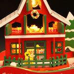 DIY Miniature Christmas House