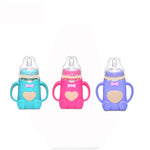 Non-toxic, Anti-Bacterial Baby Feeding Glass Milk Bottle- 2Pack