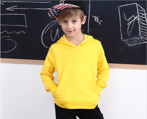Kids Eco-Friendly Windproof Hooded SweatShirt