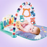 Infant & Toddler Piano Gym Playmat Fun Sports  Activity Toy