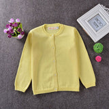 Eco-Friendly, Anti-Wrinkle, Breathable Little Girls Soft Cardigan