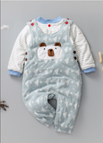 UNISEX baby 3 piece Cotton Made Bodysuit Perfect Pack for the Winters