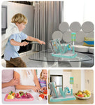 1- Set of Baby Necessities Bottle Drying Rack, Nail Clipper, Bottle Brush