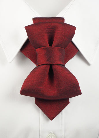Tie, Mens tie, Bow Tie, tie shop Tie for wedding suite BORDEAUX I hopper tie Bow tie