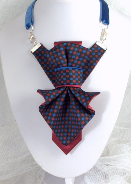 Hopper bow tie Ruty Design Bow Tie Original vertical bow tie Hand made, tie for women