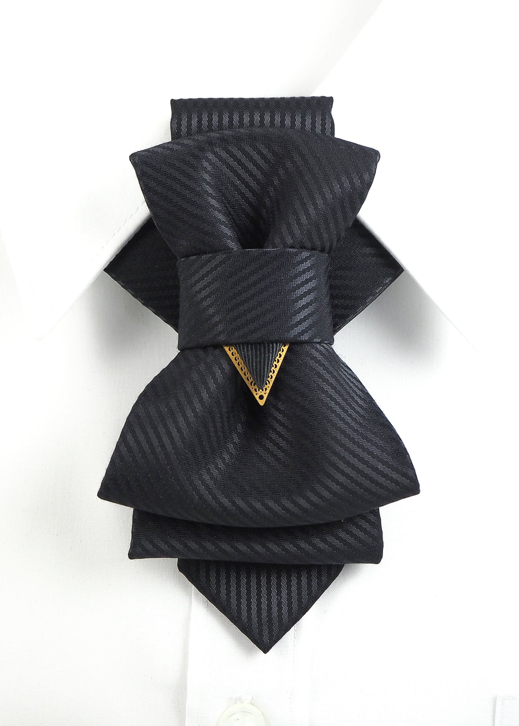 Bow Tie, Tie for wedding suite BLACK LINE hopper tie Bow tie