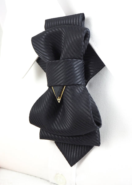Bow Tie, Tie for wedding suite BLACK LINE hopper tie Bow tie, ,Tie for the wedding suite