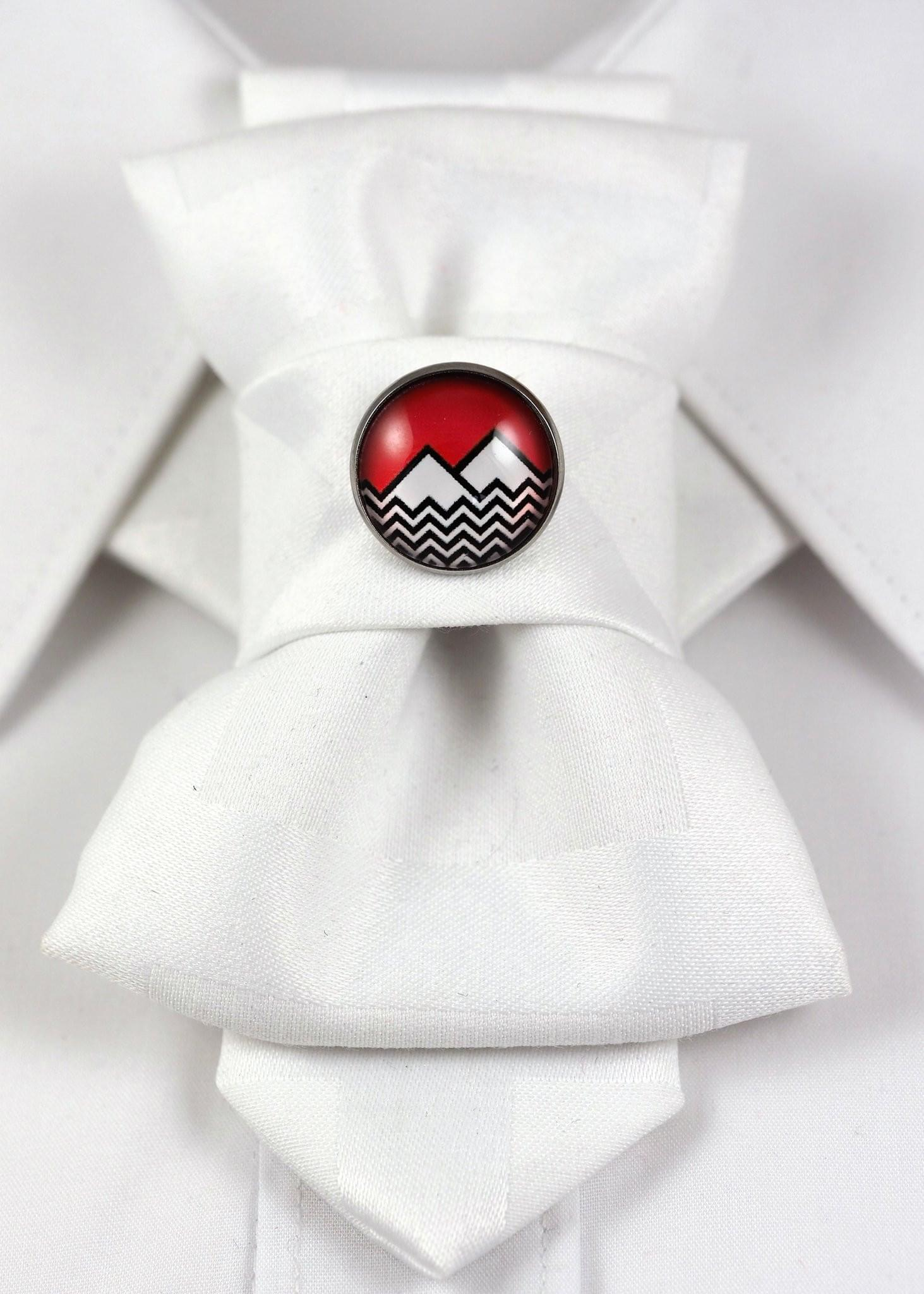 Bow Tie, Tie for wedding suite BADGE - MOUNTAINS hopper tie DECOR ELEMENT