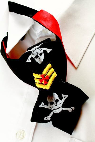 Bow Tie, Tie for wedding suite PIRATE hopper tie Bow tie