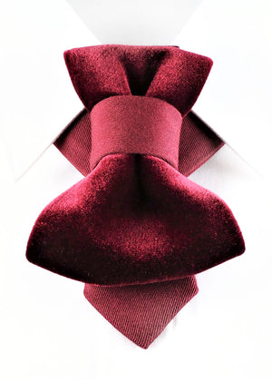 Bow Tie, Tie for wedding suite THE ROYAL BURGUNDY hopper tie Bow tie