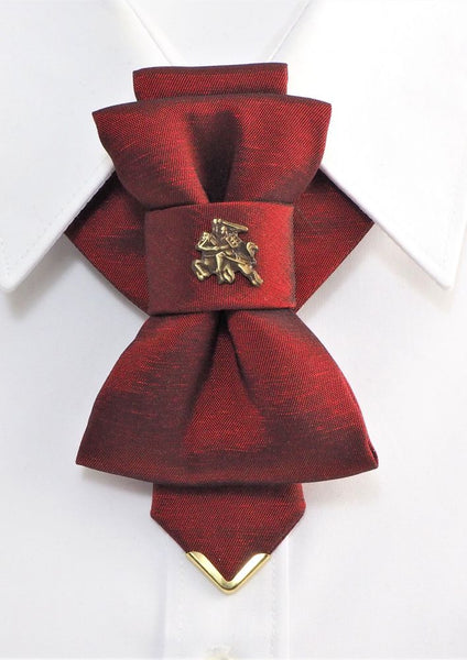 Bow Tie, Tie for wedding suite VYTIS ROYAL BORDEAUX hopper tie Bow tie