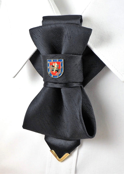 Bow Tie, Tie for wedding suite BADGE - COAT OF ARMS II hopper tie DECOR ELEMENT