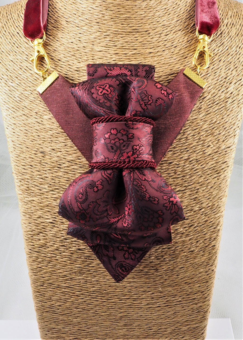 Bow Tie, Tie for wedding suite ROSE WINE hopper tie Bow tie