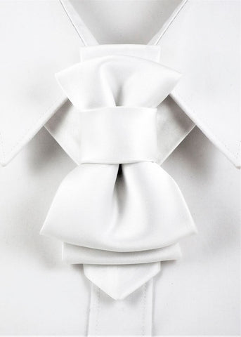 Bow Tie, Tie for wedding suite WHITE WHITE hopper tie Bow tie, wedding tie, Wedding Ties for Grooms and Groomsmen