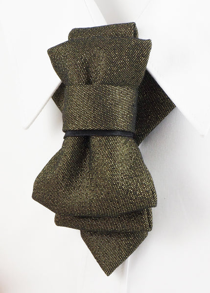 Bow Tie, Tie for wedding suite DAMASCUS hopper tie Bow tie, groomer tie side view