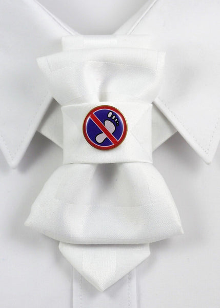 Bow Tie, Tie for wedding suite BADGE - DONT WALK, PLEASE hopper tie DECOR ELEMENT