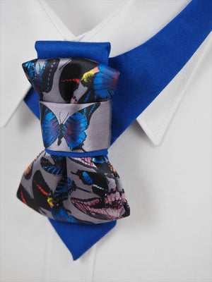 BUTTERFLY - Ruty design, BUTTERFLY - Ruty design, Unique bow tie for women, hopper bow tie, vertical bow tie, necktie, gift for women, Ruty design