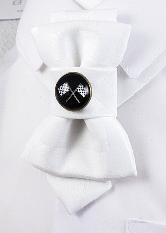 Bow Tie, Tie for wedding suite BADGE - LETS GO hopper tie DECOR ELEMENT