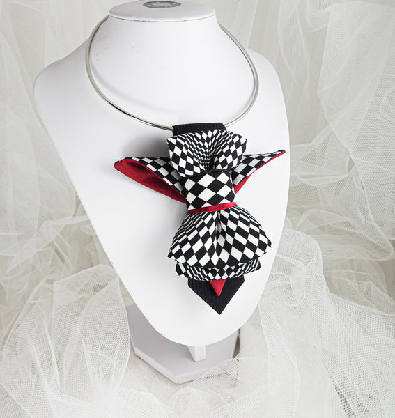 Ladies Adjustable Pre tied Bowtie created by Ruty Design