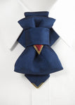 Ruty tie, Vertical bow tie, Gift for stylish men, Hopper tie by Ruty Design,