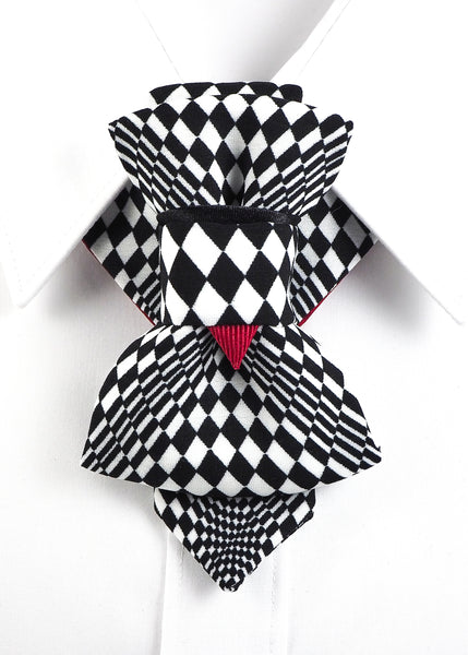 Hopper Bow Tie, Tie for wedding suite CHESS PLAYER groom bow tie