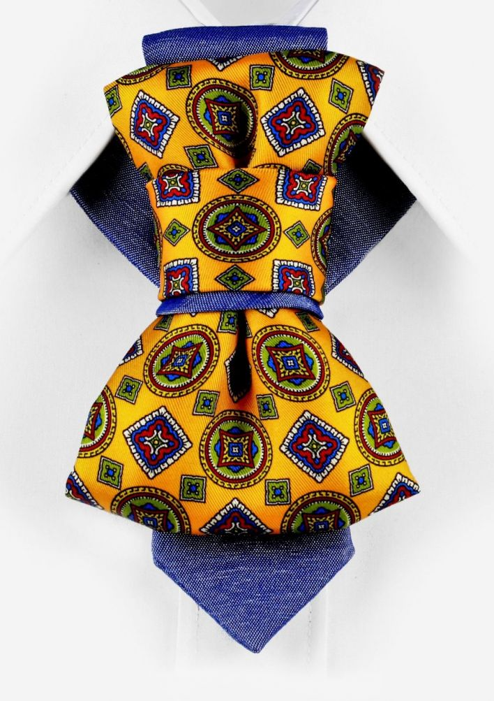 Bow Tie, Tie for wedding suite THE SUNNY ARABESCO hopper tie Bow tie