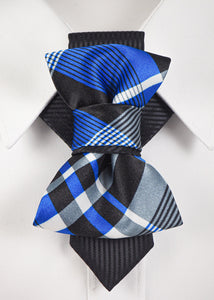 Blue Hopper tie created by Ruty Design for spetial events and every day