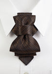 Bow Tie, Tie for wedding suite COPPER hopper tie Bow tie