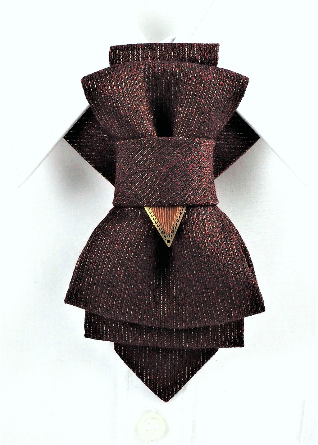 Bow Tie, Tie for wedding suite NOUGAT II hopper tie hand made high-quality Bow tie