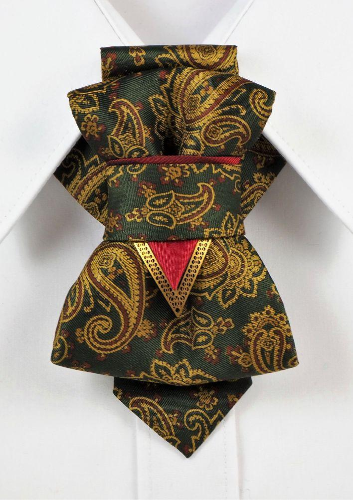Bow Tie, Tie for wedding suite THE GREEN GARDEN II hopper tie Bow tie, wedding tie front view, hopper tie for wedding