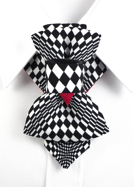 HOPPER TIE THE CHESS PLAYER SET BOW TIE