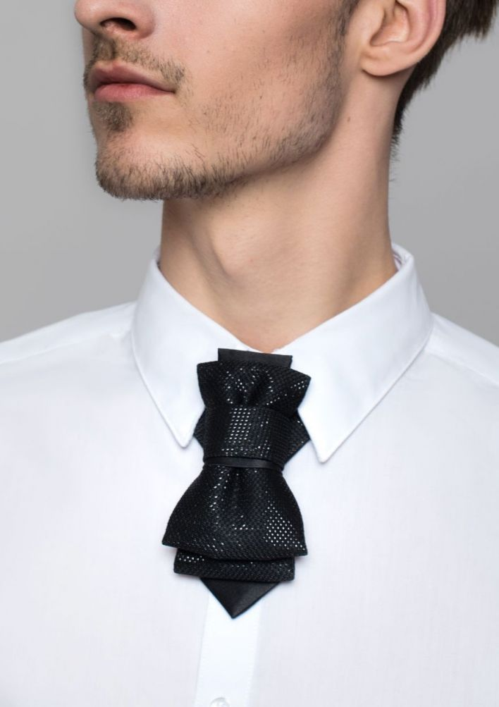 Bow Tie, Tie for wedding suite THE BLACK SHINING hopper tie Bow tie, wedding tie Wedding Ties for Grooms and Groomsmen