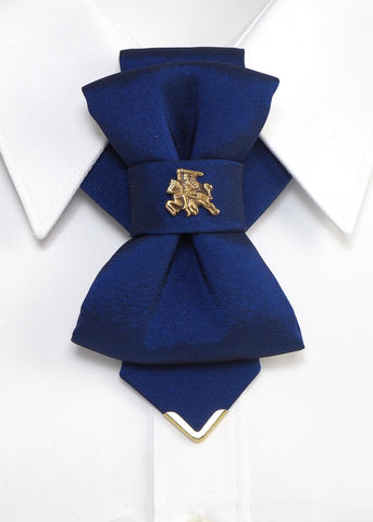 Bow Tie, Tie for wedding suite VYTIS ROYAL BLUE hopper tie Bow tie