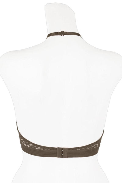 Ladies high neck lace bralette