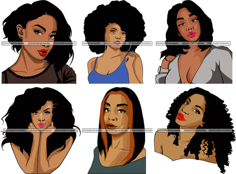 Free Bundle 10k Facebook Members Afro Woman Super Melanin SVG Files For Cutting and More!