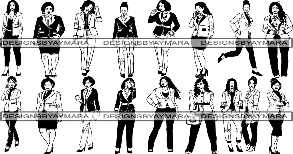 Bundle 16 Classy Boss Lady Svg Cut Files For Silhouette And Cricut