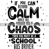 Bus Driver Cute Quotes SVG Cut Files For Silhouette Cricut and More