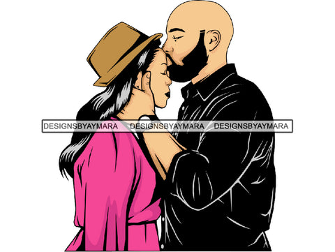 Black Couple Goals SVG  Relationship African Ethnicity Strong Family Falling in Love Happiness Young Adult EPS .PNG Vector Clipart Cricut Circuit Cut Cutting