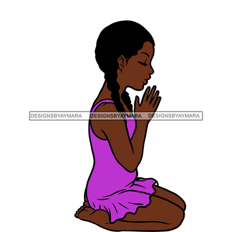 Angel  Praying  Purple Dress   JPG PNG  Clipart Cricut Silhouette Cut Cutting