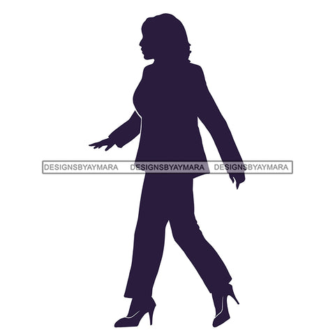 Silhouette Of Kamala Harris  JPG PNG  Clipart Cricut Silhouette Cut Cutting