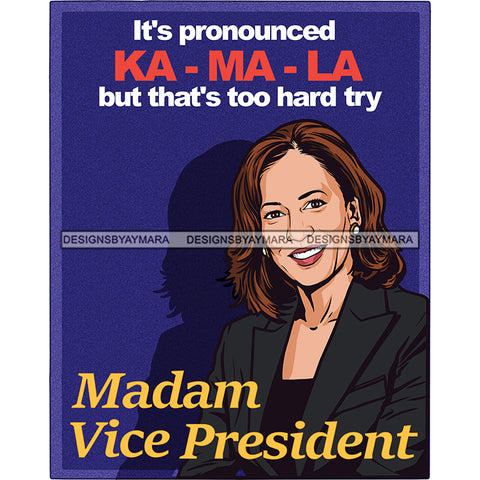 It's Pronounced Ka Ma La   JPG PNG  Clipart Cricut Silhouette Cut Cutting
