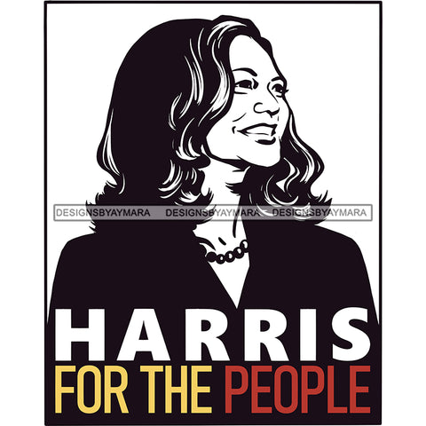 Harris For The People JPG PNG  Clipart Cricut Silhouette Cut Cutting