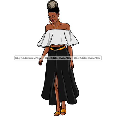 Afro Sexy Woman Mature Nubian Classy Flawless Puffy Up Do Hairstyle SVG JPG PNG Designs Cricut Silhouette Cut Cuttings