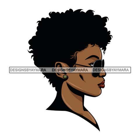 Afro Woman Boss Lady Dope Diva Glamour Hot Selling .SVG Cutting Files For Silhouette Cricut and More!