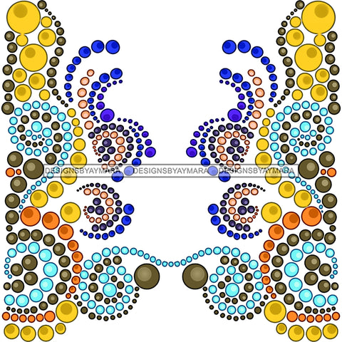 Brown And Gold And Blue Background Pearls JPG PNG  Clipart Cricut Silhouette Cut Cutting