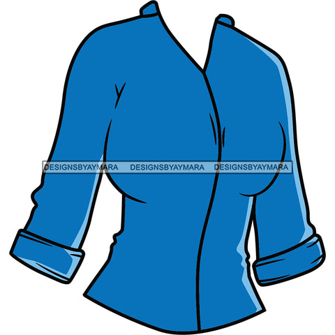 Turquoise Blouse Top SVG JPG PNG Vector Clipart Cricut Silhouette Cut Cutting