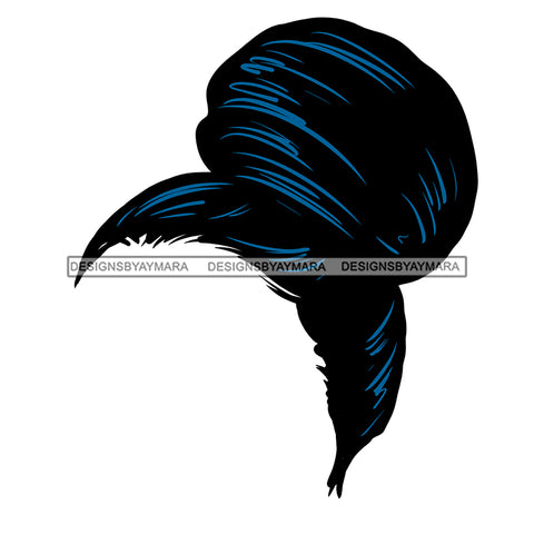 Hair In Bun Only JPG PNG  Clipart Cricut Silhouette Cut Cutting