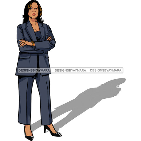 Vice President Kamala Harris Woman Power We Can Do It Chucks and Pearls 2021 Inauguration Designs Woman Power PNG JPG Files For Silhouette Cricut and More